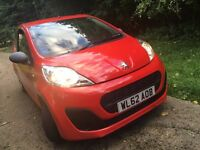2012 Peugeot 107.Free Tax ,33,000 miles only