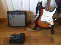 Guitar, Amp & Effects Pedal