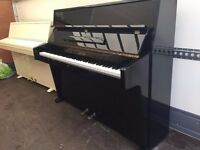 Beautiful Black Gloss Small 7 Octave British Upright Piano