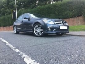 2009/59 MERCEDES-BENZ C CLASS 2.1 C250 BlueEFFICIENCY SPORT AUTO 4-DR SALOON 57K