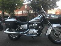 Honda vt125 shadow 125cc cruiser not xvs dragstar vl intruder eliminator virago