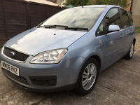 FORD C MAX 2.0 GHIA AUTOMATIC, DVD PLAYER, GAMES CONSOLE