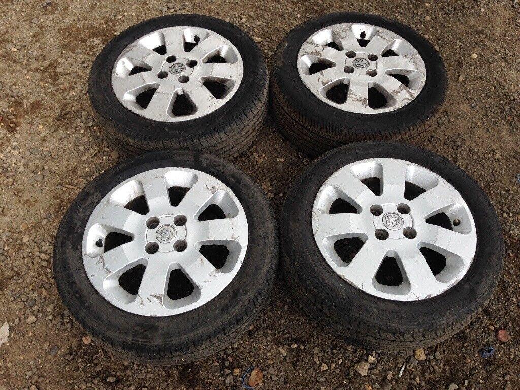 """Vauxhall corsa sxi 15"""" alloy wheels - 185/55/15 good tyres"""