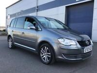 2007 Volkswagen Touran 2.0 TDi Se 5 door - 7 seater diesel Facelift - Tv Screen - I.C.E