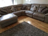 DFS SWIFT LEFT HAND FACING ELECTRIC RECLINER CHAISE CORNER SOFA