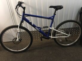 """20"""" frame mountain bike. Excellent condition. Shimano gears."""