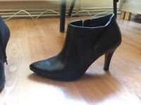 Paul green munchen real leather boots uk 5