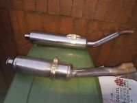 Honda Bike exhausts