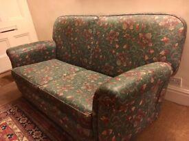 Antique 1920's Two/Three Person Sofa