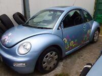BREAKING VW BEETLE 99 - 05