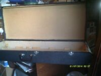 GUITAR CASE , PURPOSE BUILT , 42 by 17 by 6 Inches ,TOUGH plus GOOD HINGES & CATCHES