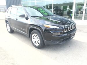 2018 Jeep Cherokee Sport, Back-up Camera, Touch Screen Radio