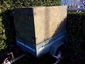 Noval Galvanized steel trailer