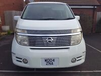 fresh import Nissan Elgrand(2004) 3.5, 8 seater, half leather, excellent condition, clean interior