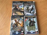Nintendo GameCube Medal of honour and call of duty bundle
