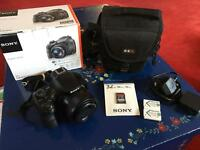 Sony DSC-HX400 digital compact bridge camera with high quality lens