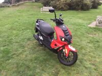Peugeot speedfight 50cc moped good quality transportation with cheap insurance