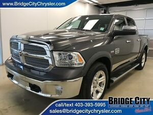 2015 Ram 1500 Longhorn- Sunroof, Leather, Vented Seats!