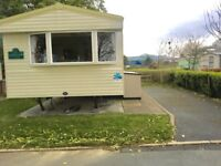 Cheap static caravan 3 bedrooms Hafan Y Mor holiday park North Wales includes 2018 site fees