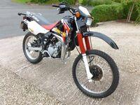 """Kawasaki KMX125 KMX 125 B11 2001 """"51"""" plate"""