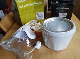 VonShef Ice cream maker as New