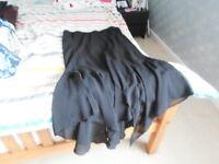 ladies black skirt