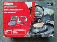 Weber Waffle and sandwich maker n°8849 for spirit, summit & genesis