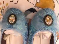 Alice in wonderland handmade pumps 6-7 size