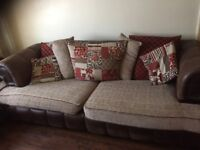 Sofa scs 4 seater and a 3 seater