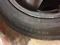 """4 Corsa Spare 15"""" Wheels"""