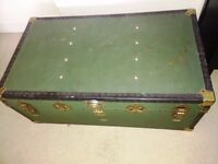 Overpond Trunk Vintage as storage or coffee table