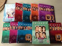 'FRIENDS' DVDs series 1-10