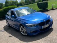 2017 BMW 3 SERIES 320 2.0 M SPORT AUTOMATIC DIESEL SALOON EURO 6 FAMILY CAR ECO BLUE NO A4 C CLASS 5