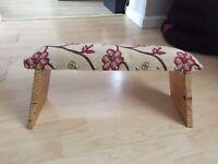Meditation folding stool