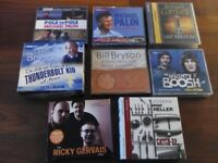 Selection of audiobook CDs