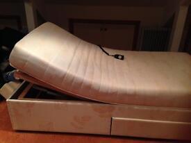 3 foot adjustable single bed