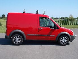 53) FORD TRANSIT CONNECT T200 1.8 TDCI PANEL VAN RED 78000 MILES FULL MOT VERY CLEAN CONDITION