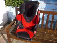 RECARO Child Car Seat Suit ages approx 3 - 9yo Full instruction manual present.