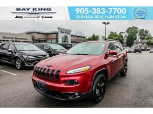 2017 Jeep Cherokee LIMITED HIGH ALTITUDE, BACKUP CAM, REMOTE STA
