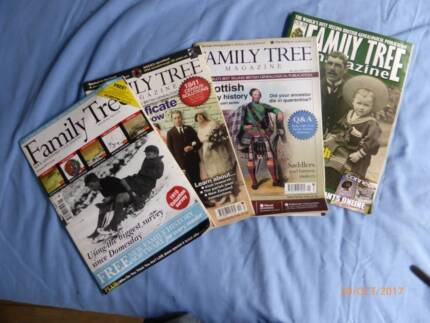 Family Tree Magazines and other titles.