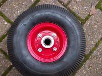 "Brand New Sack Truck or Pressure Washer Wheel & Tyre 10"""