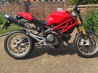Ducati Monster M1100 S superb condition low mileage