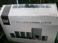 dual dvd home cinema system