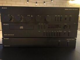 Arcam 90 Integrated Stereo Amplifier + Arcam 70 CD + Arcam Delta Black Box Digital Interface