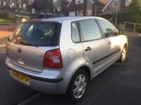 Volkswagon POLO 1400 Diesel. Silver, Manual, 5 door, 142000 miles, taxed and tested. Only £999