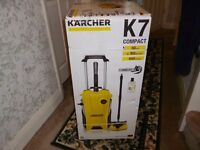 Karcher K7 Compact Home Pressure Washer brand new sealed boxed