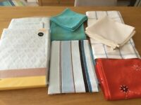 TABLE CLOTHS/NAPKINS/DUVET COVERS