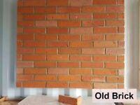 Brick Slips, tiles- OLD BRICK (wall cladding)
