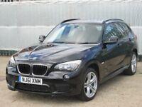 2011 (61 reg), BMW X1 2.0 20d M Sport xDrive 5dr