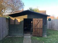*item is now gone* 12ft x 10ft Garden Shed - Free!